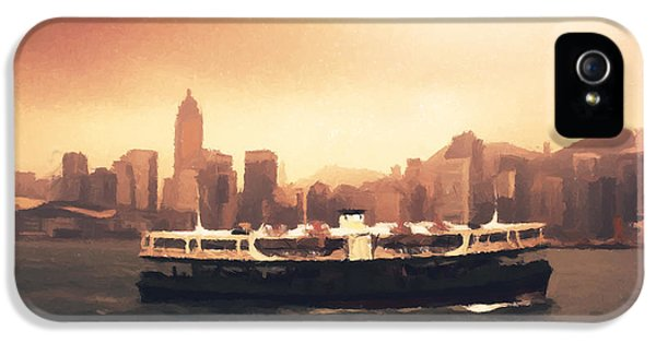 Hong Kong Harbour 01 IPhone 5 Case