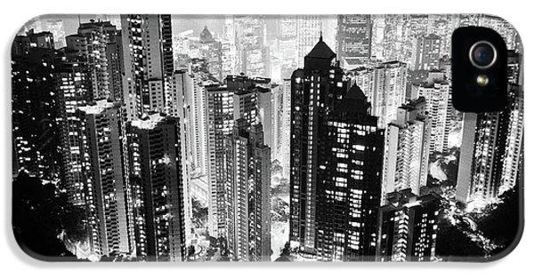 Hong Kong Nightscape IPhone 5 / 5s Case by Joseph Westrupp