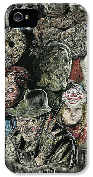 Horror Movie Murderers IPhone 5 Case