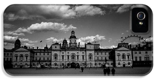 London iPhone 5 Case - #horseguards #london #thisislondon #uk by Ozan Goren