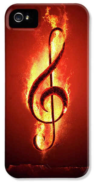Hot Music IPhone 5 Case by Johan Swanepoel