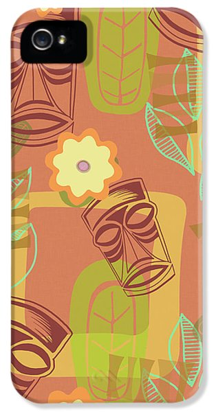 Hour At The Tiki Room IPhone 5 Case by Little Bunny Sunshine