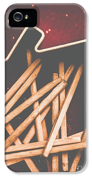 House Of Arson IPhone 5 Case by Jorgo Photography - Wall Art Gallery