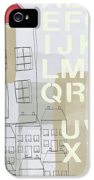 House Plans 2- Art By Linda Woods IPhone 5 Case by Linda Woods