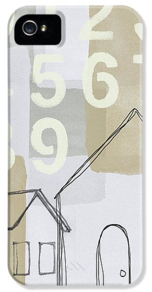 House Plans 3- Art By Linda Woods IPhone 5 Case by Linda Woods