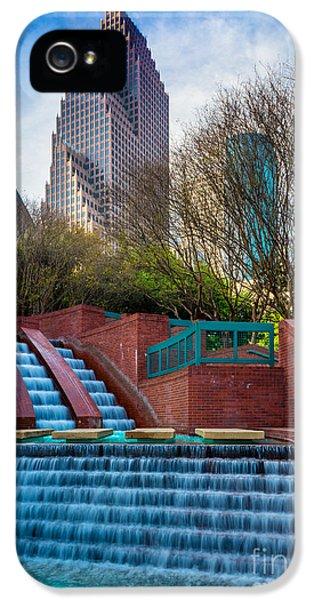 Houston Fountain IPhone 5 Case