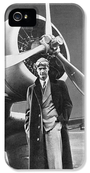 White iPhone 5 Case - Howard Hughes, Us Aviation Pioneer by Science, Industry & Business Librarynew York Public Library