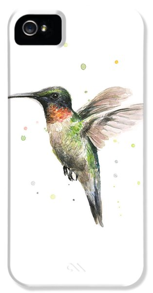 Hummingbird IPhone 5 / 5s Case by Olga Shvartsur