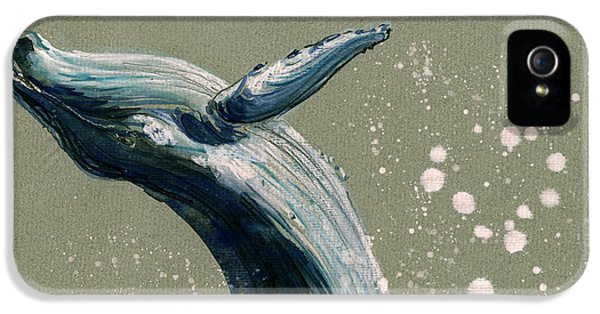 Humpback Whale Swimming IPhone 5 Case