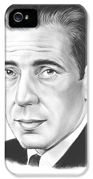 Falcon iPhone 5 Case - Humphrey Bogart by Greg Joens
