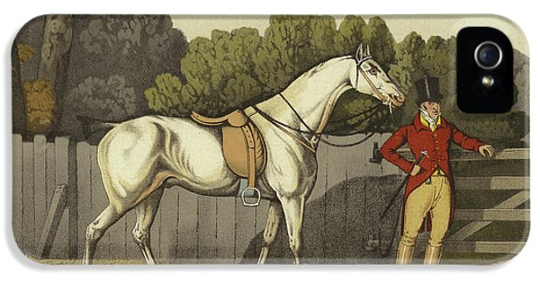 Horse iPhone 5 Case - Hunter by Henry Thomas Alken