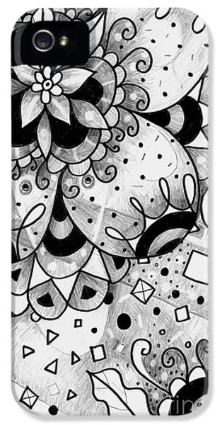Hurlyburly IPhone 5 Case by Helena Tiainen