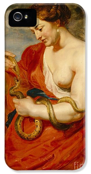 Hygeia - Goddess Of Health IPhone 5 Case