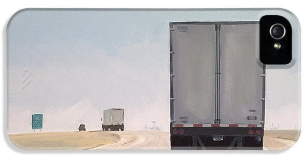 Truck iPhone 5 Case - I-55 North 9am by Jeffrey Bess