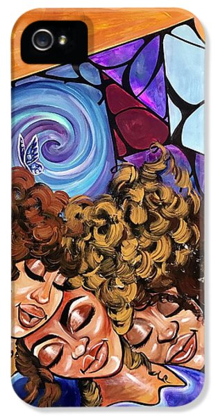 iPhone 5 Case - I Am My Sisters Keeper by Artist RiA