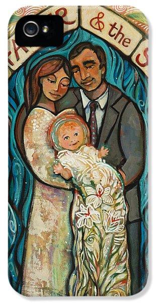 I Baptize You IPhone 5 Case by Jen Norton