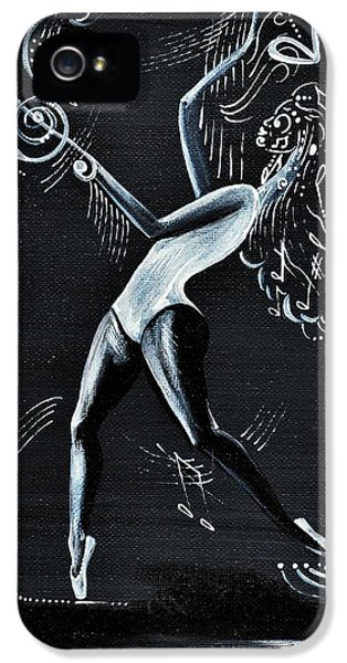 iPhone 5 Case - I Dont Care About The Words  I Just Listen To The Beat by Artist RiA