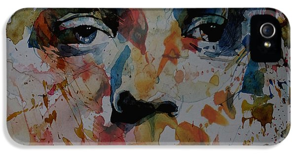 Rolling Stone Magazine iPhone 5 Case - I Know It's Only Rock N Roll But I Like It by Paul Lovering