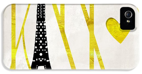 Paris iPhone 5 Case - I Love Paris by Mindy Sommers