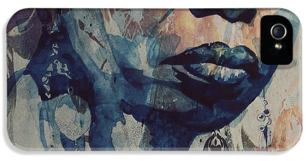 I Wish I Knew How It Would Be  Feel To Be Free IPhone 5 Case by Paul Lovering