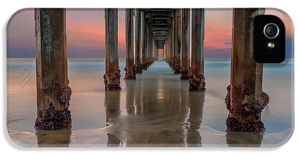 Iconic Scripps Pier IPhone 5 Case by Larry Marshall