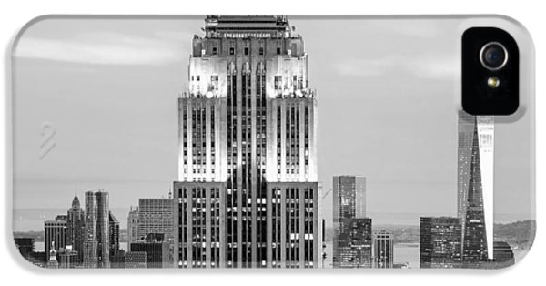 Empire State Building iPhone 5 Case - Iconic Skyscrapers by Az Jackson