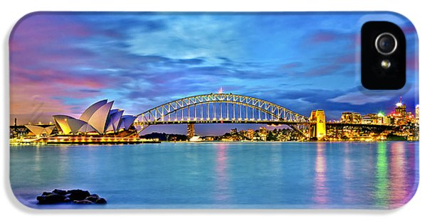 Icons Of Sydney Harbour IPhone 5 Case