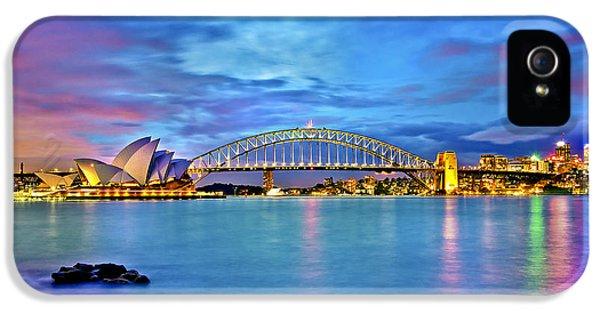Icons Of Sydney Harbour IPhone 5 Case by Az Jackson