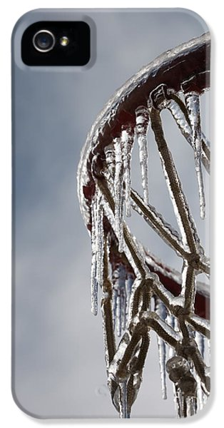 Icy Hoops IPhone 5 Case by Nadine Rippelmeyer