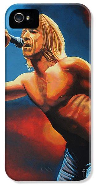 Iggy Pop Painting IPhone 5 Case