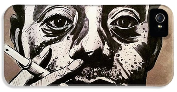 iPhone 5 Case - James Baldwin by Russell Boyle