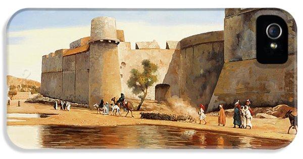 Castle iPhone 5 Case - Il Castello by Guido Borelli