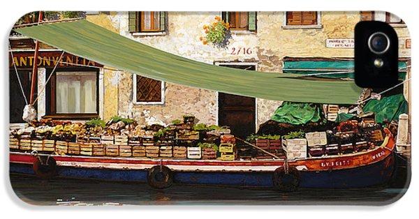 il mercato galleggiante a Venezia IPhone 5 Case