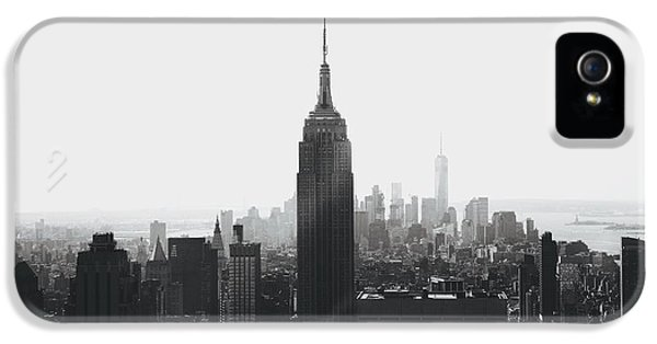 I'll Take Manhattan  IPhone 5 Case by J Montrice