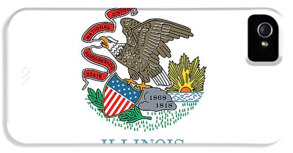 Illinois State Flag IPhone 5 Case by American School