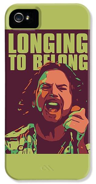 Pearl Jam iPhone 5 Case - Eddie Vedder by Greatom London