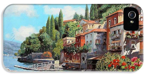 Impressioni Del Lago IPhone 5 Case by Guido Borelli