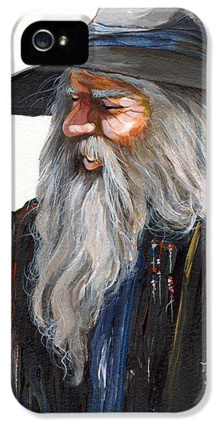 Wizard iPhone 5 Case - Impressionist Wizard by J W Baker