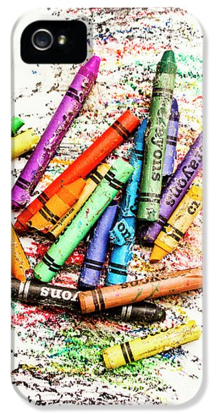 In Colours Of Broken Crayons IPhone 5 Case