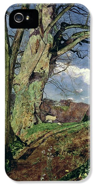 In Early Spring IPhone 5 Case by John William Inchbold