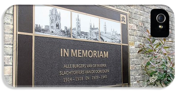 In Memoriam - Ypres IPhone 5 Case