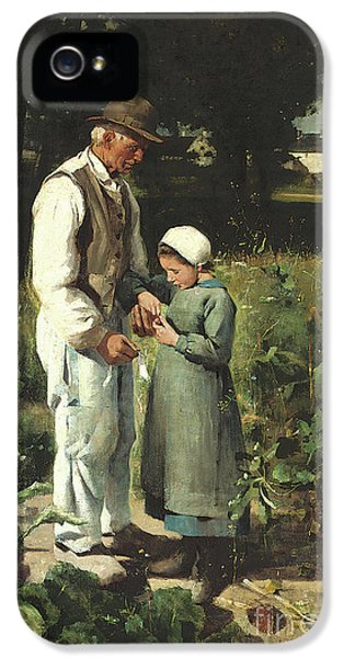 In The Fields, Anvers Sur Oise, 1882 IPhone 5 Case