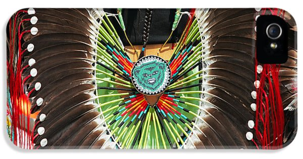 Indian Decorative Feathers IPhone 5 Case by Todd Klassy