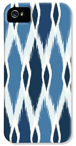 Indigo Ikat IPhone 5 / 5s Case by Arte Flora Design Studio