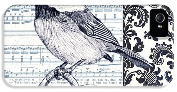 Indigo Vintage Songbird 2 IPhone 5 / 5s Case by Debbie DeWitt