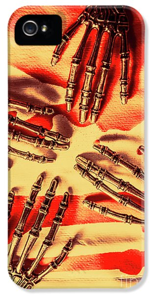 Industrial Death Machines IPhone 5 Case by Jorgo Photography - Wall Art Gallery