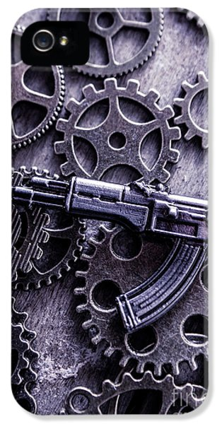 Industrial Firearms  IPhone 5 Case by Jorgo Photography - Wall Art Gallery
