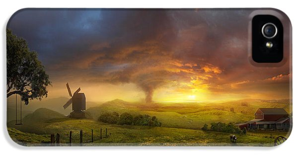 Wizard iPhone 5 Case - Infinite Oz by Philip Straub