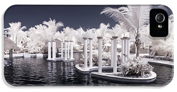Infrared Pool IPhone 5 Case by Adam Romanowicz