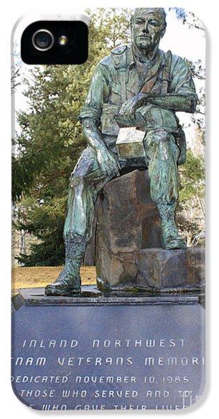 Inland Northwest Vietnam Veterans Memorial IPhone 5 Case